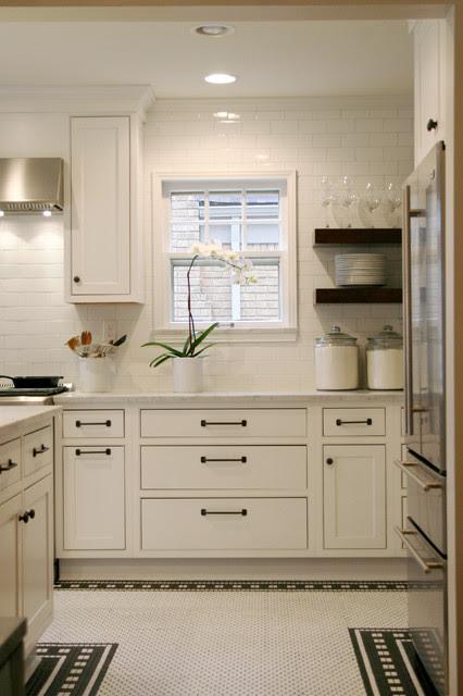 White On White Kitchen - Contemporary - Kitchen - oklahoma ...