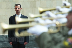 Syrian President Bashar Al-Assad in Yerevan