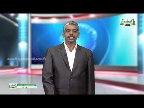12th Computer Science பைத்தான் செய்கூறுகள் பாடம் 7 Kalvi TV