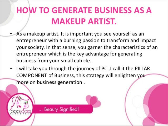 Makeup artist name ideas