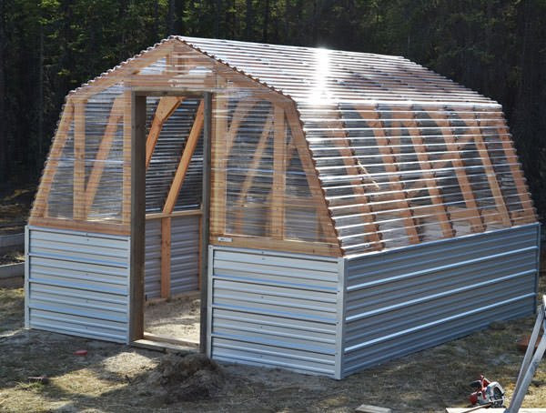 Membuat Grenn house Sederhana