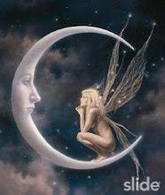 una fada a la lluna...