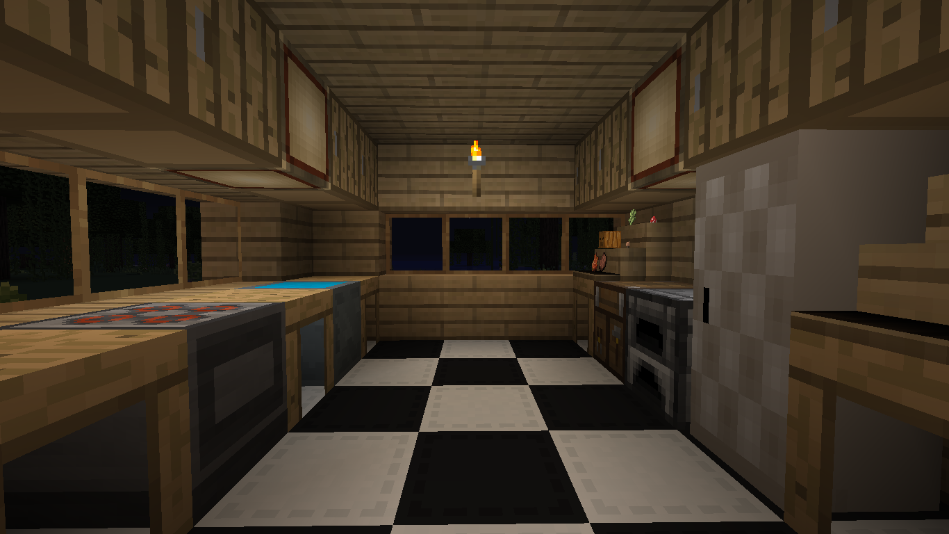 Minecraft Kitchen | FieStund
