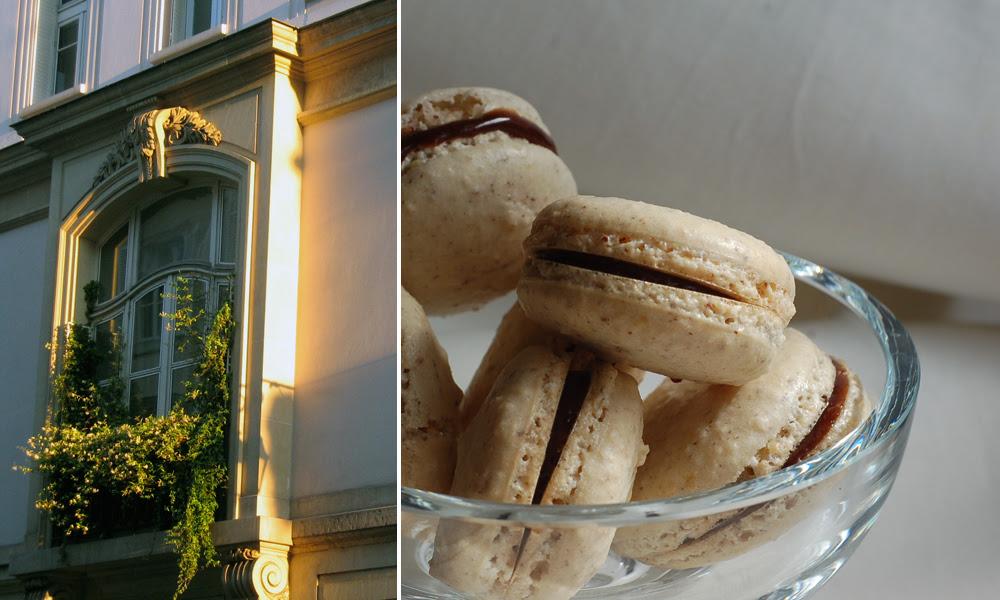 Hazelnut macarons & Paris