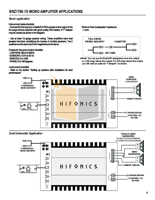 Channel Monoblock Amp Wiring Diagram on mitsubishi infinity radio, nissan bose, infinity gold, for car, connecting 6 speakers 4 channel, gm bose,