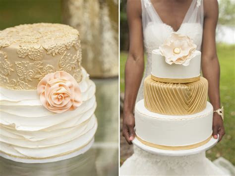 Gold and Peach Wedding Ideas   Styled Shoot by Art Photo