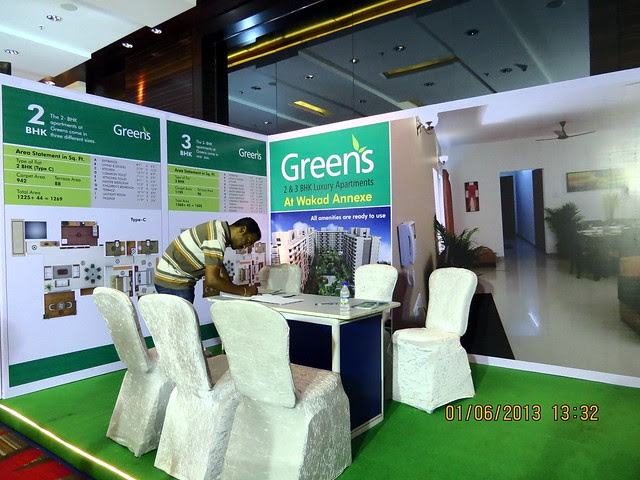 www.greenspune.com - Visit Times Property Showcase 2013, 1st &2nd June 2013, JW Marriott, S B Road, Pune