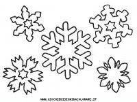 Disegni Da Colorare Di Fiocchi Di Neve Disegni Di Natale