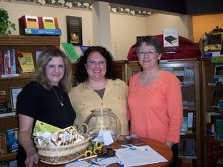 Connie, myself & Karen - The Rock Good Book Store, Hays, KS