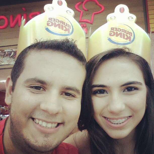 juliana leite e lucas lopes burger king monsters rei e rainha da noite