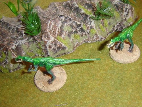 Two Achillobators stalking