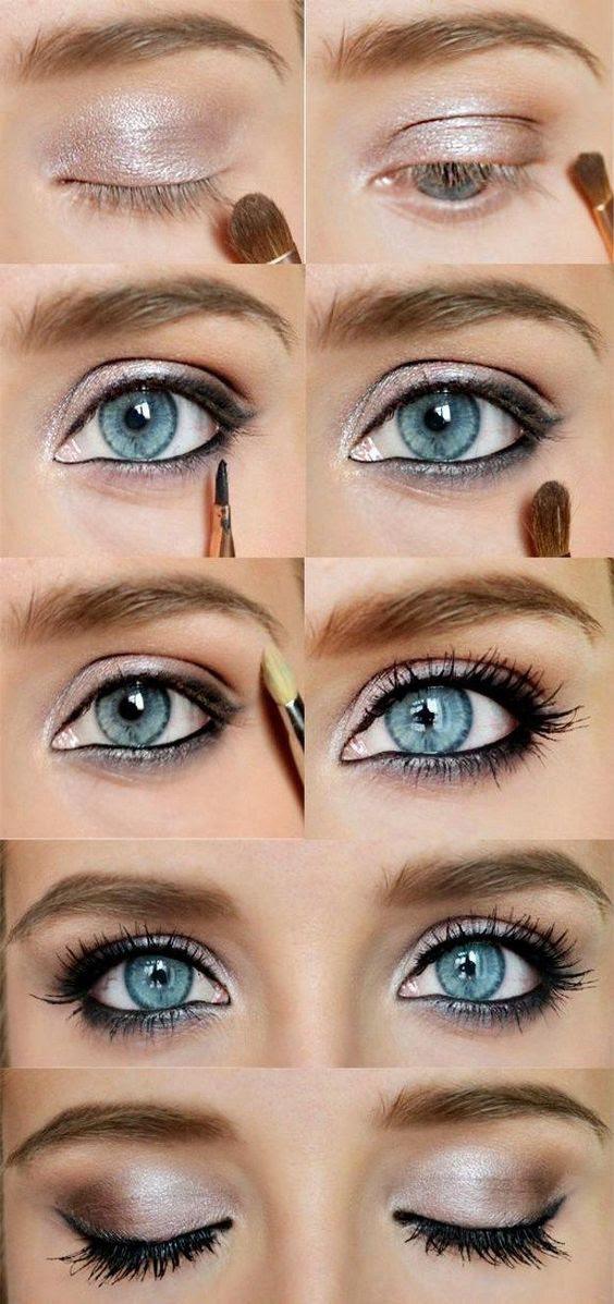Eye makeup looks for blue eyes virus