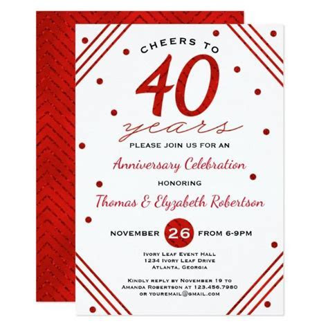Best 25  40th anniversary gifts ideas on Pinterest   40th