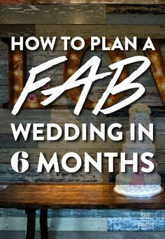 Wedding Planning: How to Plan a Wedding in SIX Months