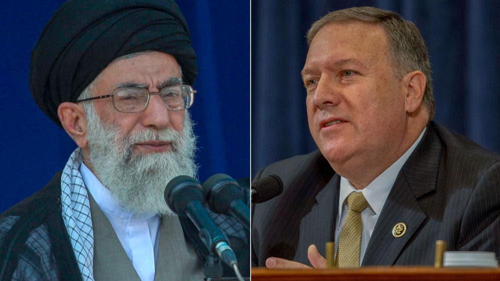 Risultati immagini per POMPEO IRAN