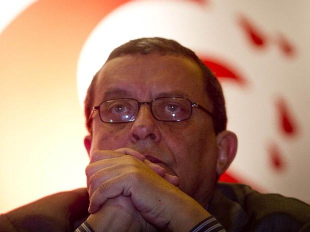 O publicitário João Santana, em foto de maio de 2012 (Foto: Alexandro Auler/Estadão Conteúdo/Arquivo)