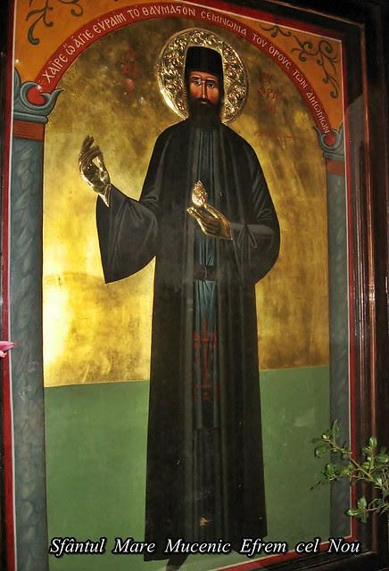 Sfântul  Mare  Mucenic  Efrem  cel  Nou 12