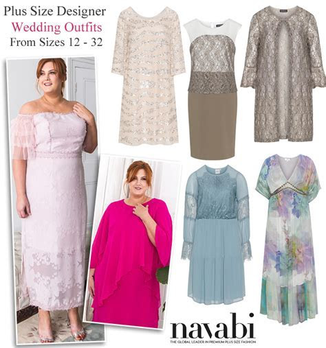 Plus Size Mother of the Bride Outfits Wedding Occasionwear