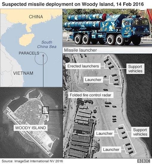 Woody Island - HQ9-SAM Deployment by China
