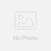 Red backless long evening dress
