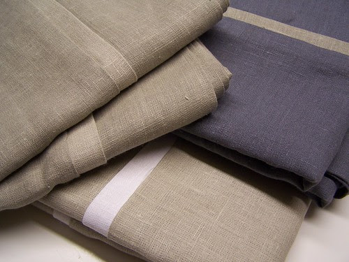 sand & fog & mist color linen pillowcases