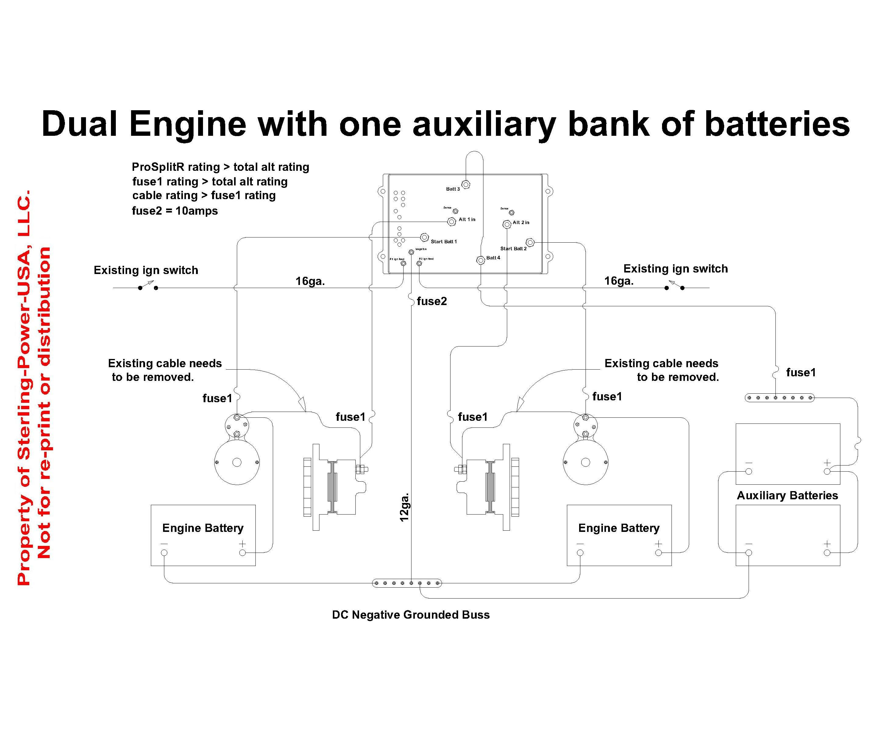 Wiring Diagram For Marine Battery