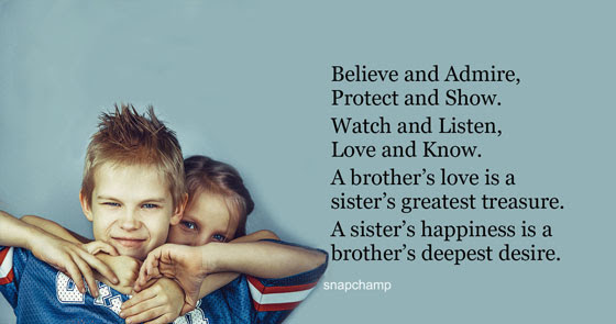 Brother And Sister Love Quotes 20 Quotesbae