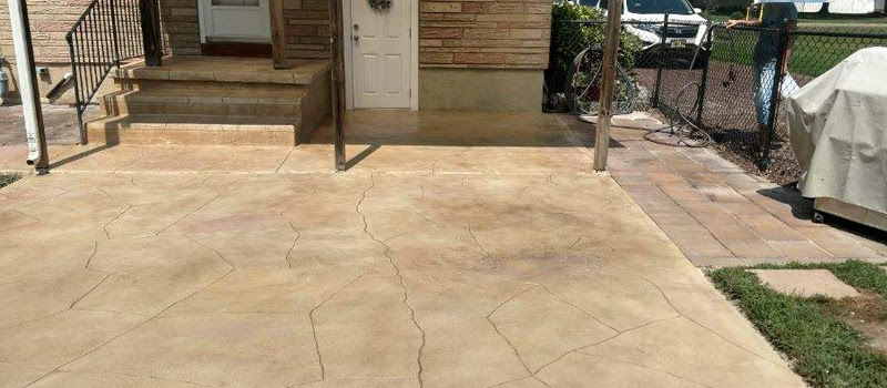 Grey Slate Patio And Walk New Castle Artisan