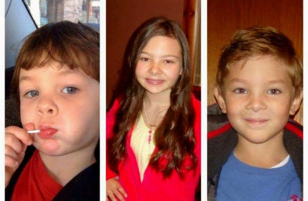 From left to right, Gage Melia, Amaya Cameron and Riley Melia were reported missing Sunday. // Photo: Gresham Police Department