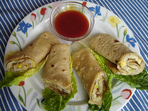 Simply Delicious Chapati and Egg Rolls