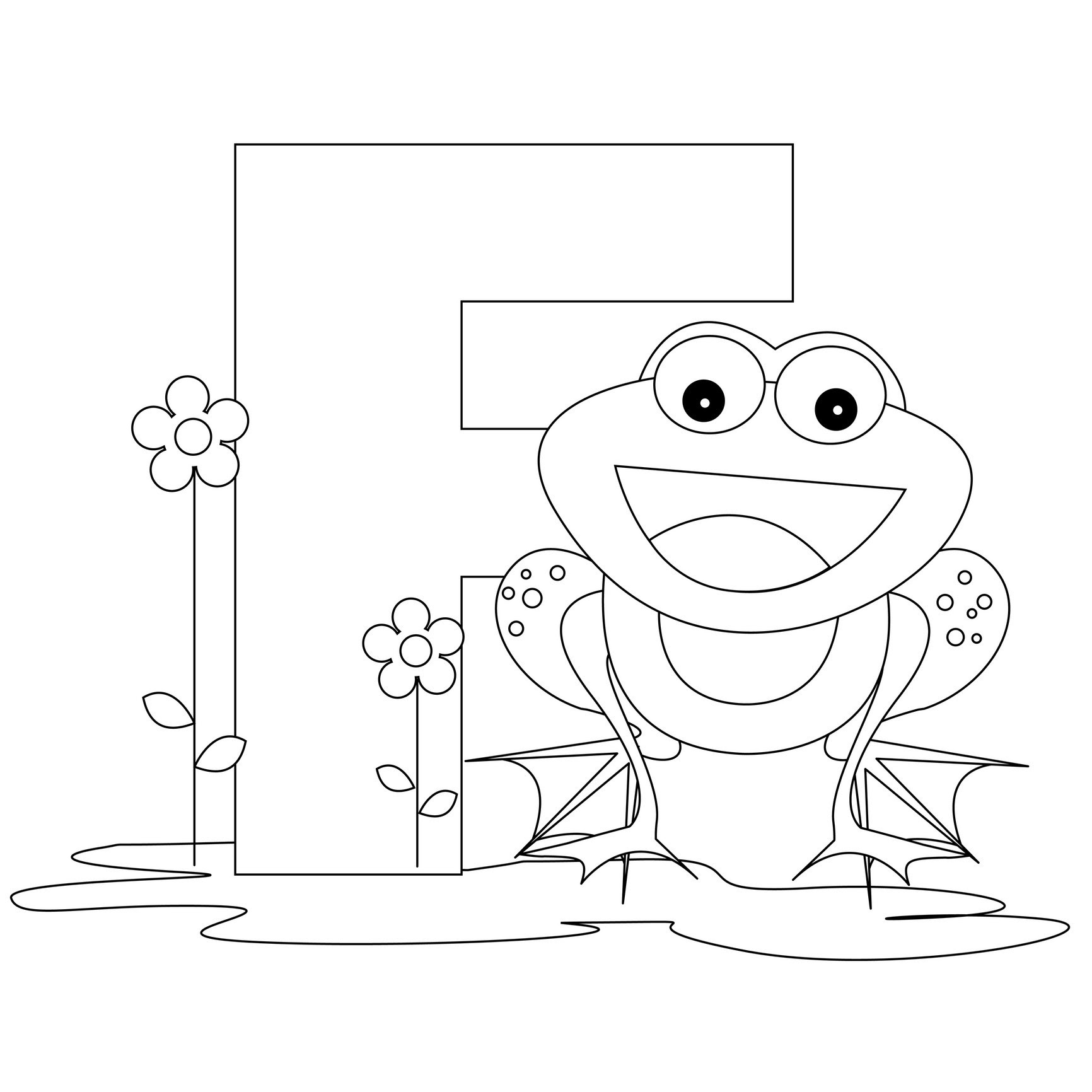 Free Printable Alphabet Coloring Pages for Kids Best Coloring Pages For Kids