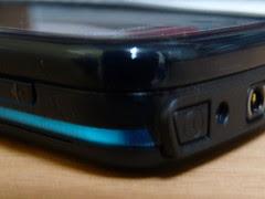 Nokia 5800 - the right top corner