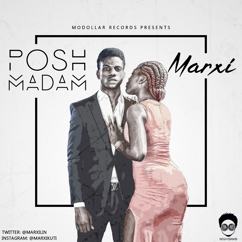 Marxi - Posh Madam - Artwork