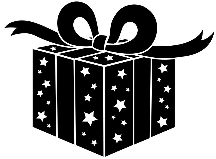 Free Gift Box Clipart Black And White Download Free Clip Art Free Clip Art On Clipart Library