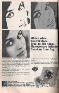 Old Ad of Agfa photo paper