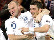 Wayne Rooney (left) and Adam Johnson (right)