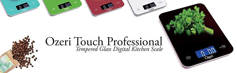 Ozeri Touch Pro Digital Kitchen Scale