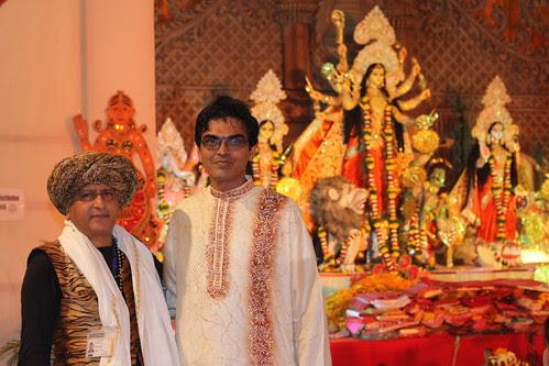 Pradir Chatterjee Bombay Durgabari Samiti Durga Puja by firoze shakir photographerno1