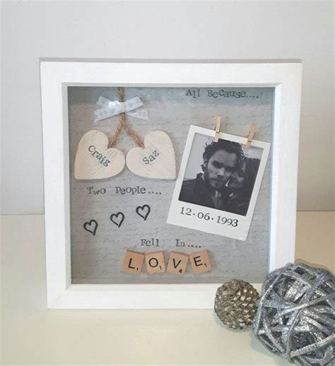 Anniversary Gift, Wedding Gift, Personalised Frame