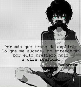 Frases Tristes Anime Amino