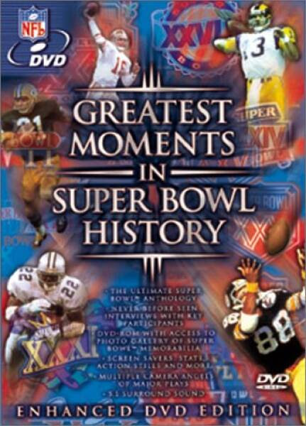 Greatest Moments in Super Bowl History DVD NFL