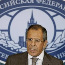 El ministro de Exteriores ruso Sergei Lavrov
