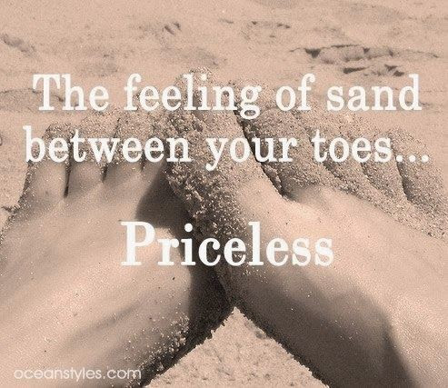 Toes In The Sand Quote Quote Number 675620 Picture Quotes