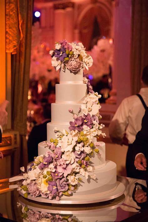 Cakes & Desserts Photos   Six Layer Cake with Purple Sugar