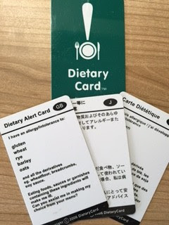 Gluten free translation cards - a travel essential - The ...
