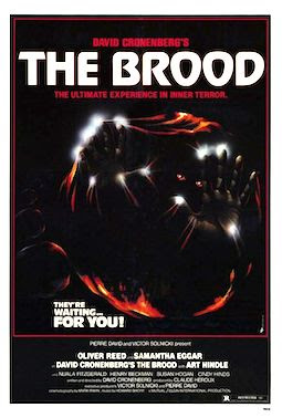 The Brood movie poster