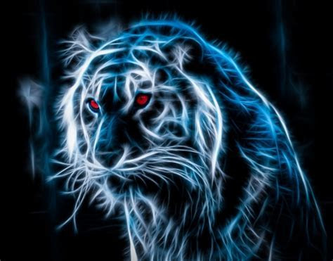 Neon Tiger Wallpaper   WallpaperSafari
