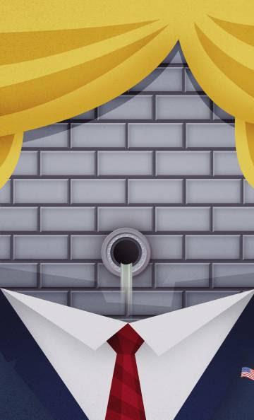Trump: los muros de su cerebro
