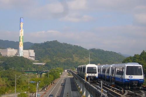 台北捷運文湖線-馬特拉車廂上路