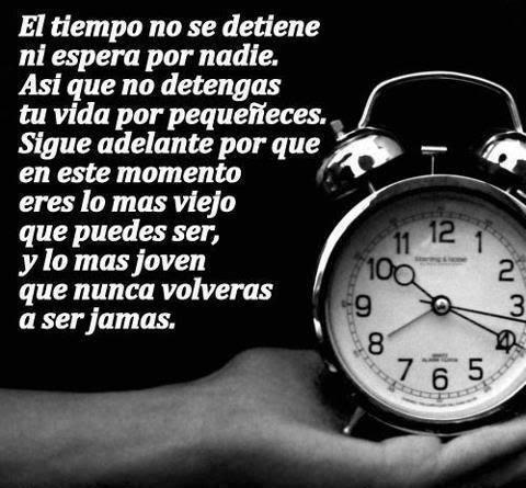 Frases Y Palabras Sobre Relojes Tiempo Y Vida Pon La Tuya Página 3